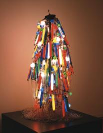 Tanaka Atsuko, Electric Dress, 1956 (refabricated 1986)